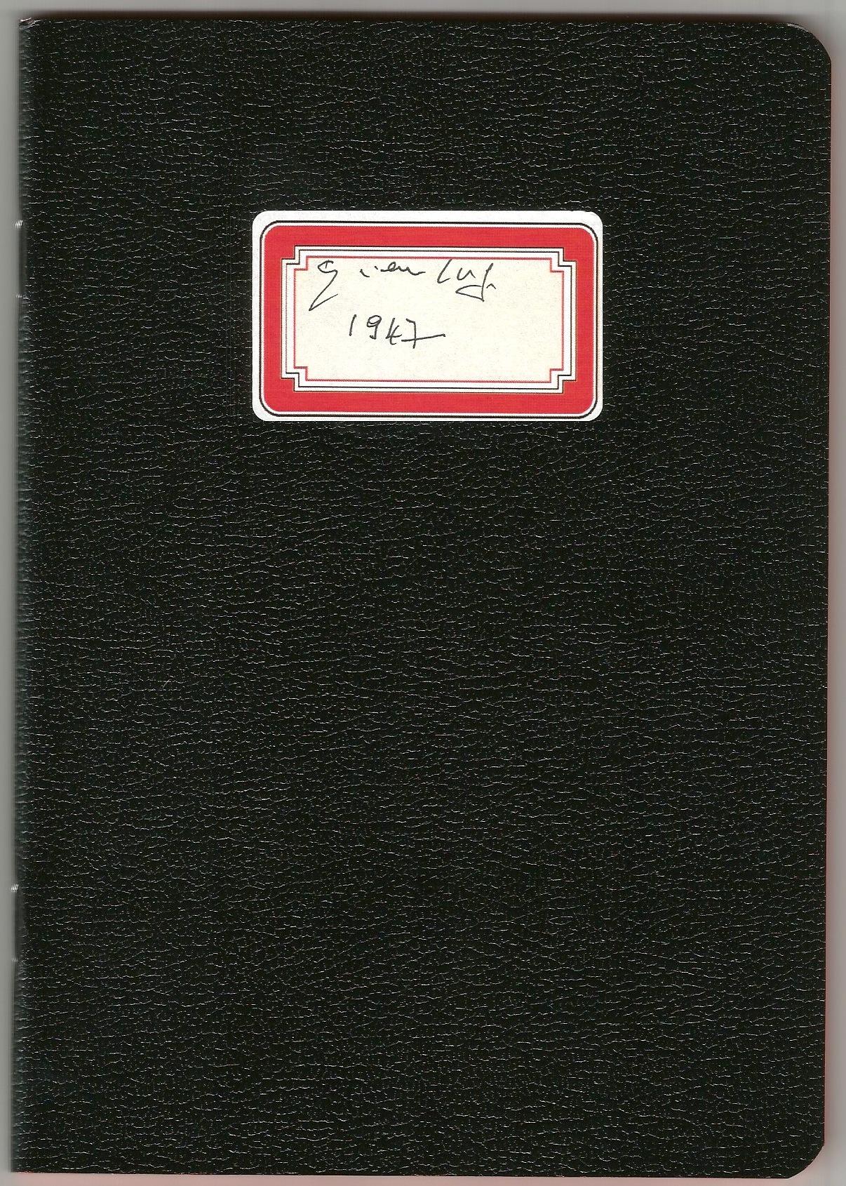 Diario 1947 Gian Luigi Rondi