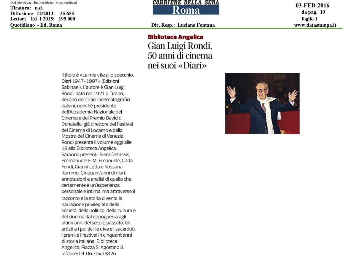 Il Corriere.