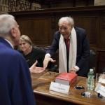 Gian Luigi Rondi saluta Gianni Letta