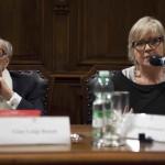 Gian Luigi Rondi e Piera Detassis