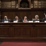 da sx: Simone Casavecchia, Gianni Letta, Rossana Rummo, Gian Luigi Rondi, Piera Detassis, Emmanuele F.M. Emanuele