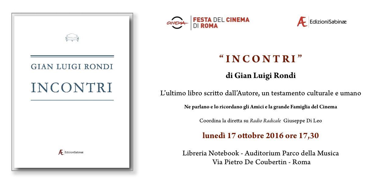 17 ottobre 2016 ore 17 30 festa del cinema di roma for Diretta radio radicale