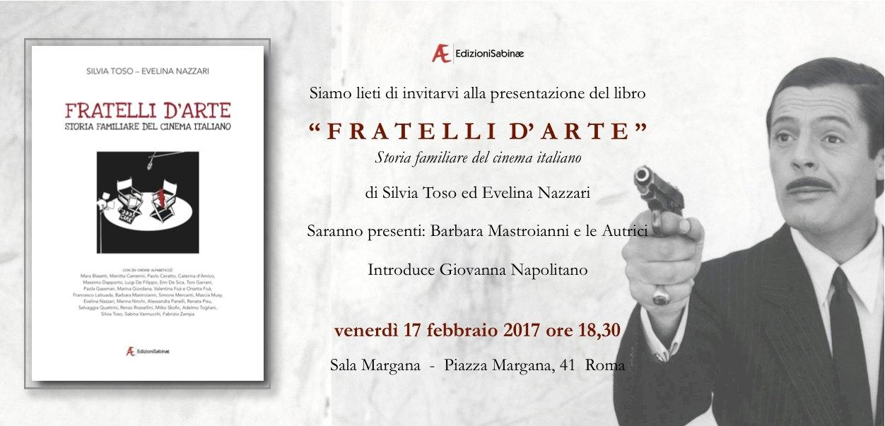 Invito Fratelli d'Arte 17 FEBBRAIO 2017