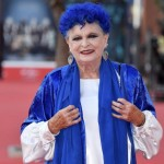 Lucia Bosè, Festa del Cinema di Roma, 23 ottobre 2019, Red Carpet